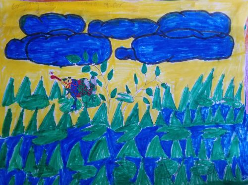 Gregory Garcia - Grade 5 - Age 10 - Jersey City, NJ USA, teacher, Rossana Villaflor