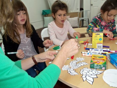 Susan-leads-nature-art-little-bees-102516