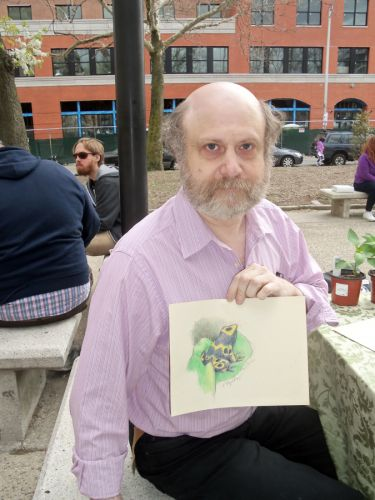 Mark-and-his-lovely-frog-drawing