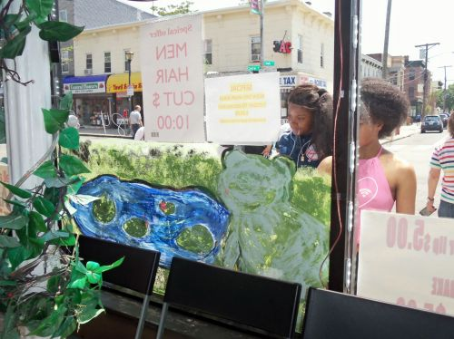 Frog-painting-429-Central-Ave-academy-1-students