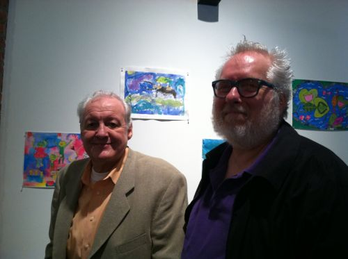 Thomas Tyburski and John Crittenden at Green Dream