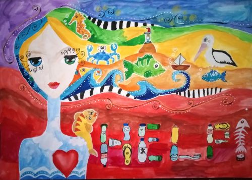 Marina Milenova Katzarska, 9 years old, Bulgaria, Honorable Mention winner 2020