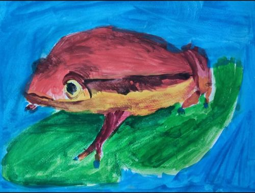 3rd Place - Ipek Aygun, 7 years old, Best art from Turkey 2020