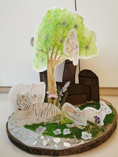 Yufei Song, 8 years old, China, Tree of life, best 3d 2020