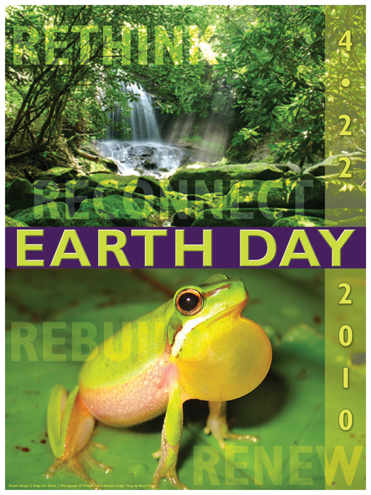 design copyright Susan Newman, photo by Dr. Kerry Kriger, Save the Frogs