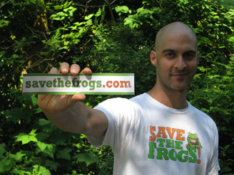 Save The Frogs Founder Kerry Kriger