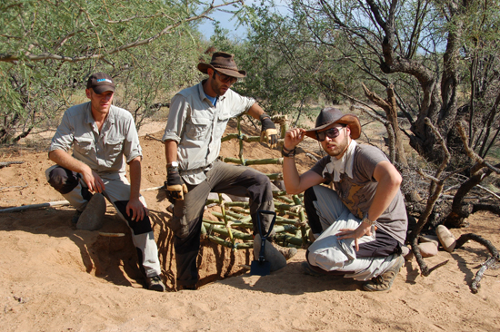 coyote peterson and gang on location