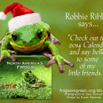 Green Friday 2013 – North America's Frogs 2014 Calendar
