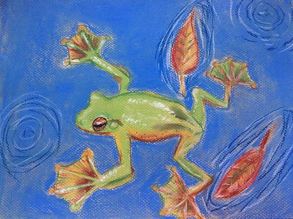 1st winnner, Matthew L., 8 yrs, Oregon, USA, Kids Art Contest
