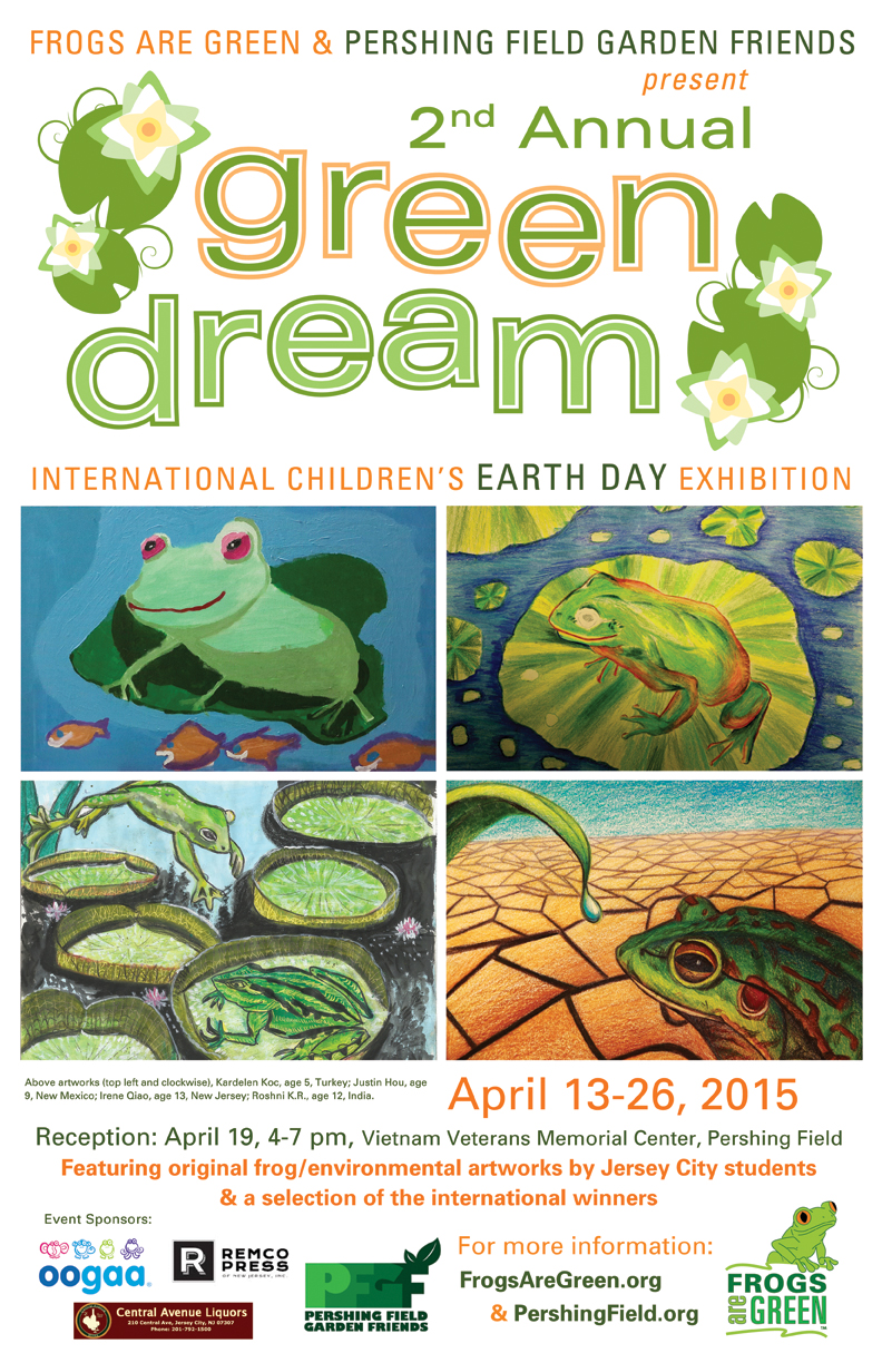 2nd Annual Green Dream hosted by Frogs Are Green and Pershing Field Garden Friends