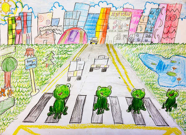 Charmaine Yuxin Wong, 8 yrs, Singapore, kids art contest