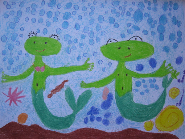 Dusa, 5 yrs, Serbia, kids art contest