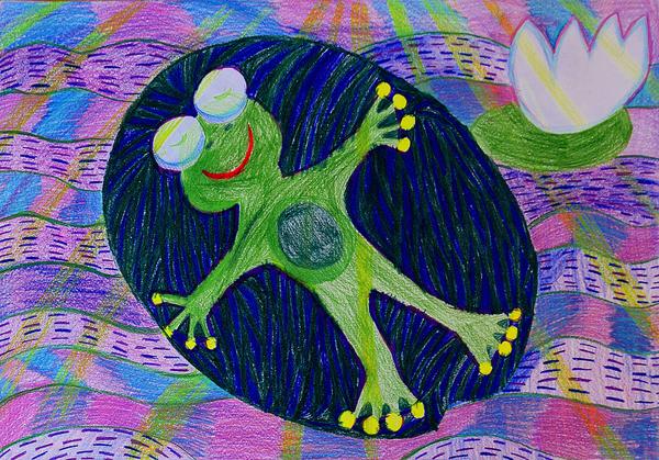 Nadine Leevand Balezin, 9 yrs, Estonia, Kids art contest