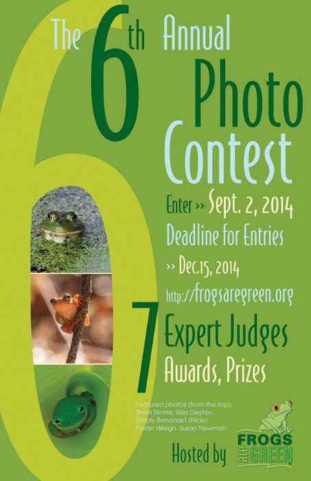 6th Annual Frogs Are Green Photo Contest 2014