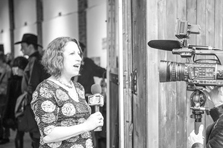 Susan Newman, founder of Frogs Are Green being interviewed by JC1TV