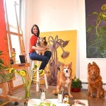 Eco-Interview: Allison Green, Painting Nature – Jersey City Artist