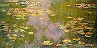 Water Lilies, 1919, by Claude Monet - Metropolitan Museum of Art, New York City