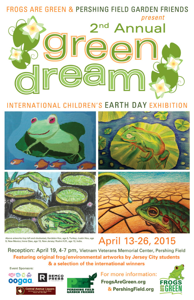 2nd Annual Green Dream -Hosted by Frogs are Green and Pershing Field Garden Friends