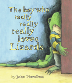Boy who really really really loves lizards