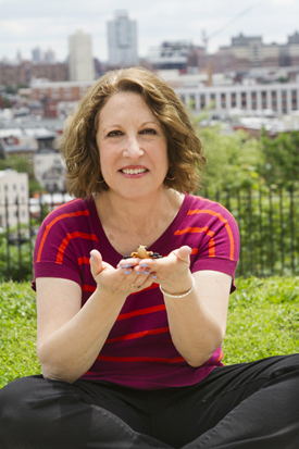 Susan Newman, Founder of Frogs Are Green photographed by Alyssa Bredin in Riverview Park Jersey City
