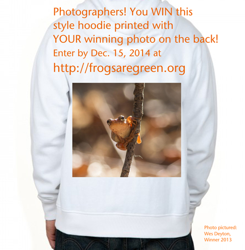 Photography contest 2014 winners get hoodie with their winning photo on the back