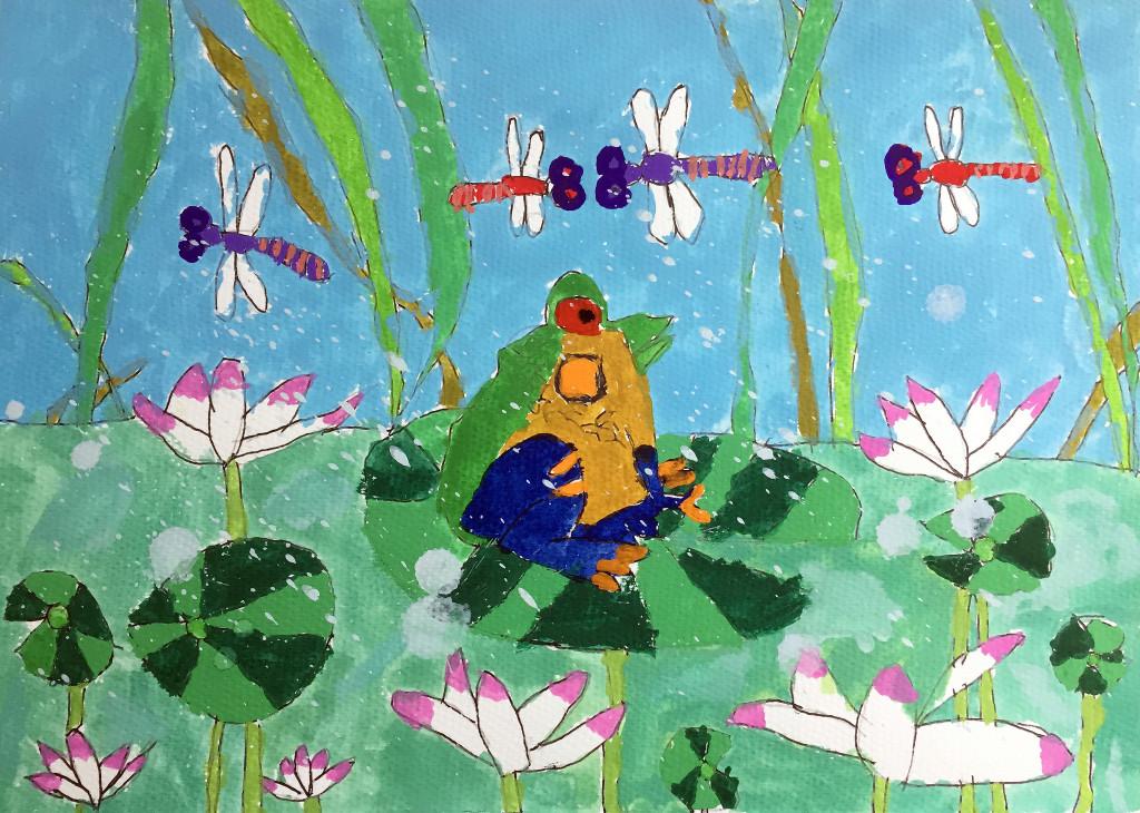 Chan Tsz Yin Andrea, 5 yrs old, Hong Kong, Arttra.