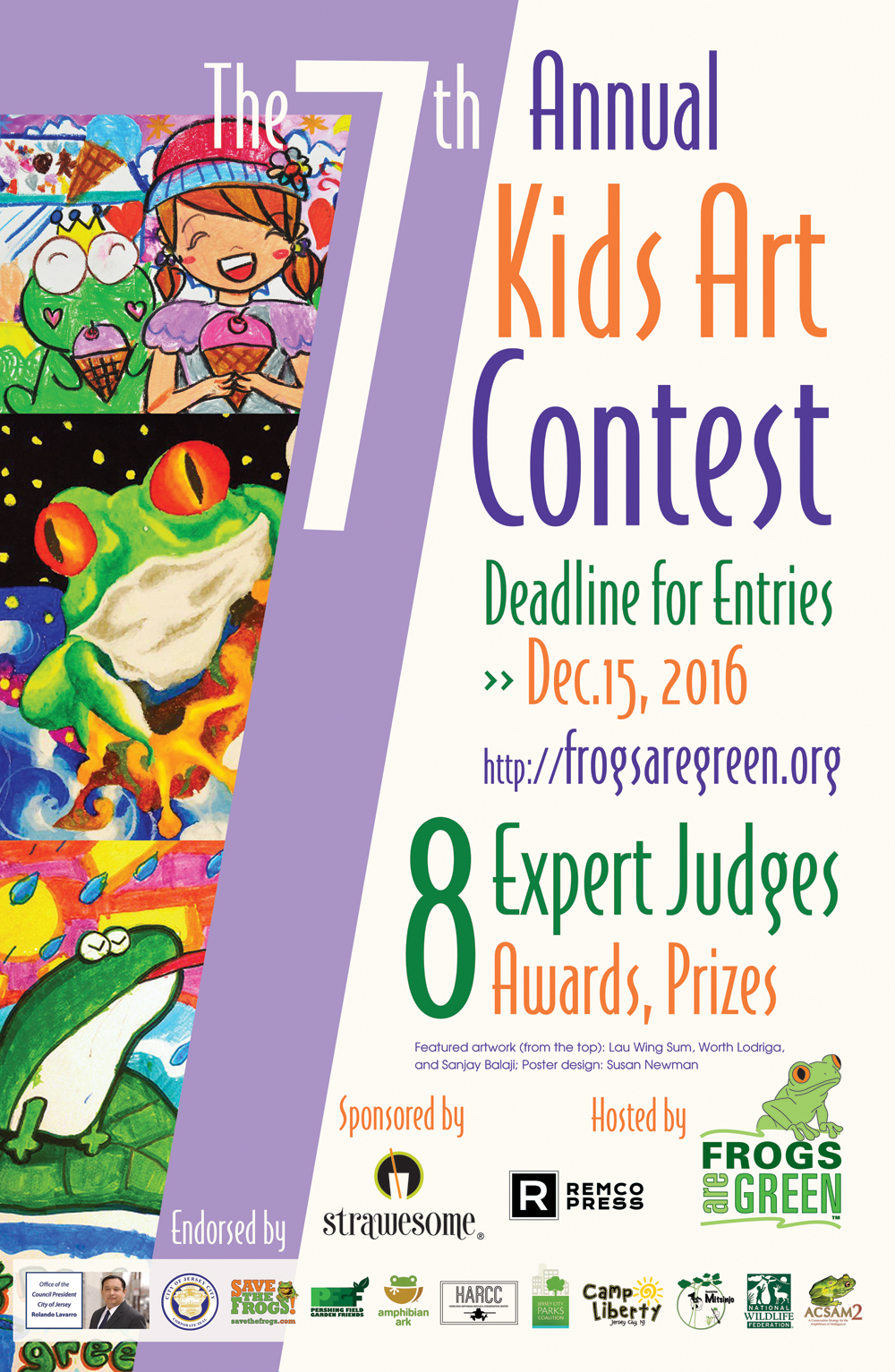 7th Annual Frogs Are Green Kids Art Contest