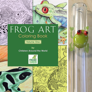 Frogs Are Green Kids Art Contest 2016 prizes