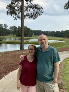 Susan Newman Lerer and Mark Lerer in NC 2021.