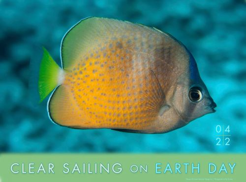 Clear sailing on Earth Day