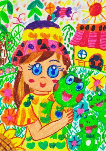 4-Bridget Liu, 5 years old, School of Creativity, Hong Kong, China