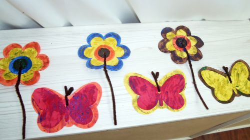 Flowers-butterflies-painted-040417