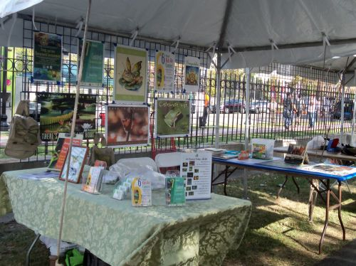 Frogs Are Green tent at Washington Park Live 2015