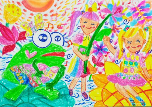 3-Ng Tsz Ying, 5 years old, School of Creativity, Hong Kong, China