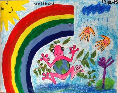 5-Vrishas Bolukonda, 4 years old, India