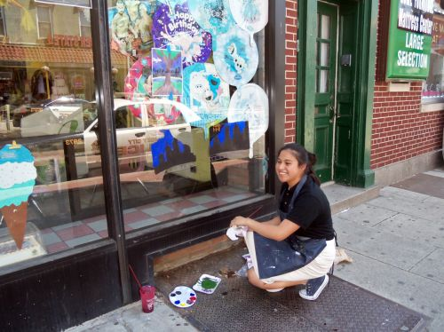Deonico-Gasper-PS23-290-Central-ave-window-painting-trees