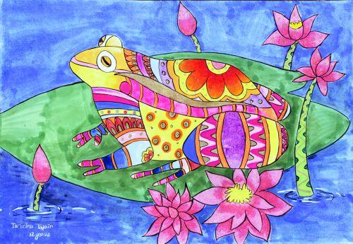 Ede_02-12 yrs old-Akibuki Art Academy-Bangladesh.