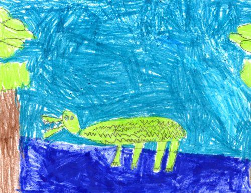 Viola Kronstroem, 5 yrs old, Hoboken, NJ, USA