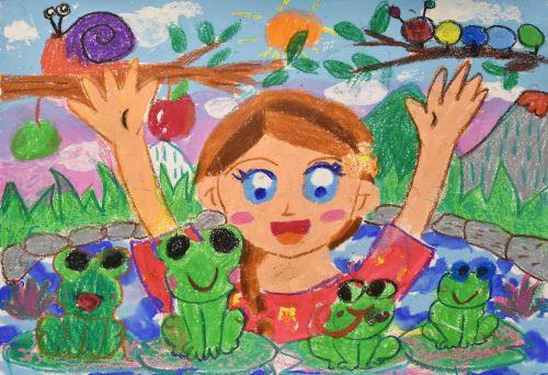 Chau Tse Yin Celine, 4 years old, Hong Kong, China, School of Creativity