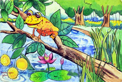 Tanzina-Tajrin-Ede-12 yrs old-Akibuki Art AcademyBangladesh