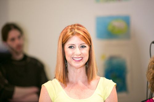 Kristin DeAngelis at Frogs Are Green's Green Dream - Save the Frogs Day event at The Distillery Gallery. Photo by Danny Chong.