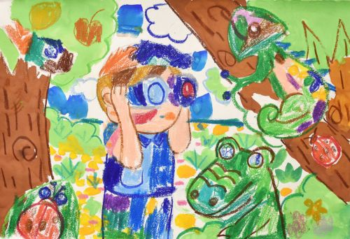 Ng Yin Hei, 7 years old, Hong Kong, China, School of Creativity