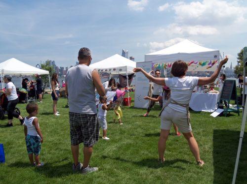 Celebrate Life Studio had children's activities including dance!