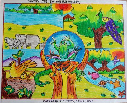 Krushna P. Prabhu, 9 Years, India