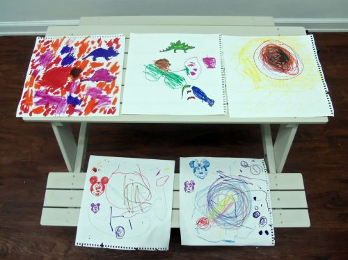 artwork-by-children-little-bee-learning-studio-and-peaceful-frogs