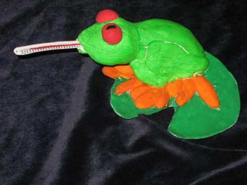 3rd Place Winner, Alexander Franco, Jersey City, NJ, Frogs Are Green Kids Art Contest, Best 3D Art