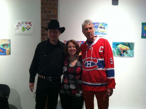Gary Van Miert, Susan Newman, Dave Ace Case