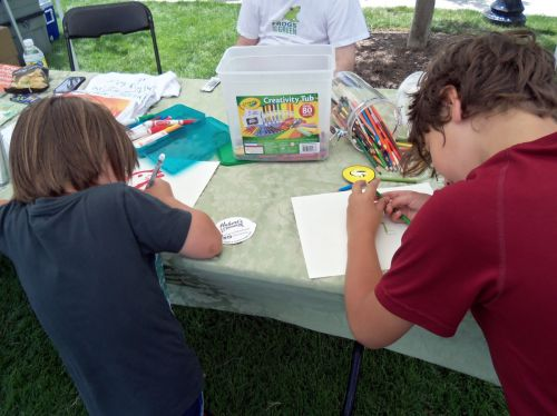Frogs Are Green loves it when children are into drawing frogs!