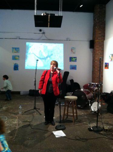 Laura Skolar of Jersey City Parks Coalition