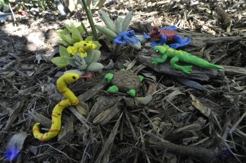 1st-place, Julie Knauth, 10 years old, CA, USA, 3D art, 3D amazon creatures, clay